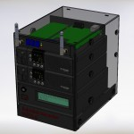 Gerendertes SolidWorks Modell mit allen Komponenten