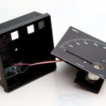 MegaBitMeter mit montierter Skala
